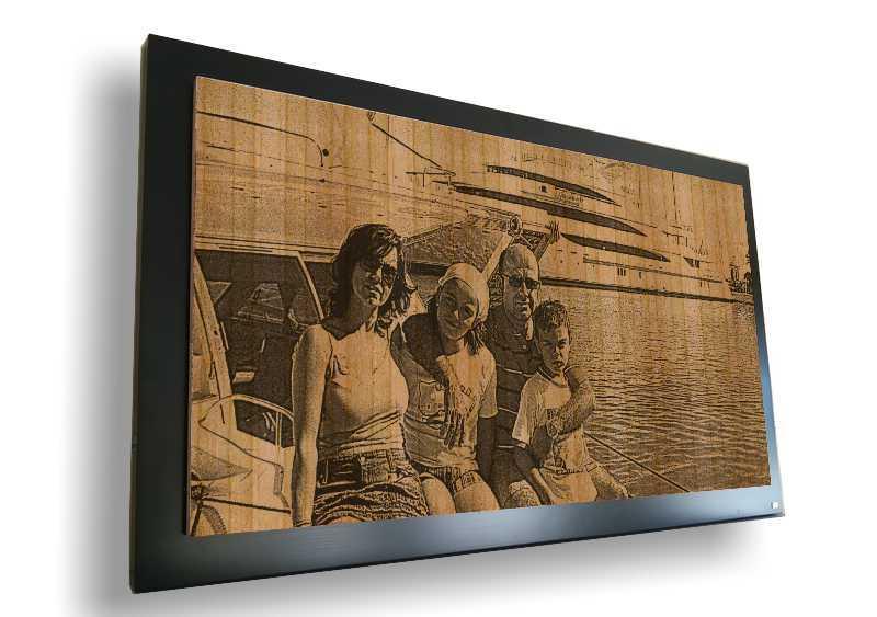 Fotogabado en barco