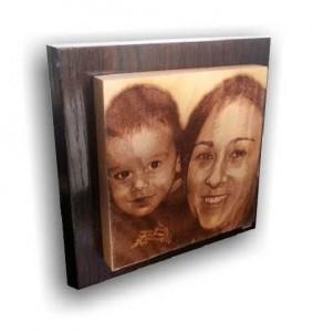 Tu foto en madera