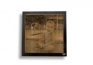 Fotograbado de bebé